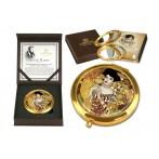 Зеркало карманное Золотая Адель  ( Г. Климт)