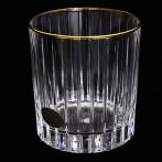 """Набор стаканов для виски """"Пиза золото"""""""