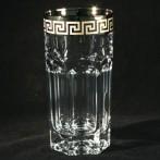 """Набор стаканов для воды """"Версаче серебро"""""""
