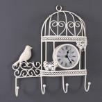 Часы настенные с крючками