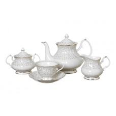 """Чайный сервиз на 6 персон 15 предметов """"Вивьен"""""""