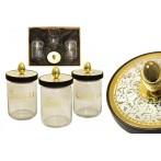 """Набор банок для сыпучих продуктов """"Dubai Gold/Silver"""""""