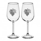 Набор бокалов для вина 2 штуки