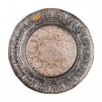 """Блюдо стеклянное """"Дамаск"""" (диаметр - 33 см)"""