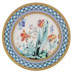 """Десертная тарелка """"Французский сад"""""""
