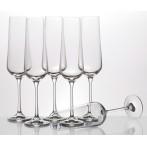 """Набор бокалов для шампанского """"Сандра"""" 6 штук"""