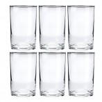 Комплект стаканов тонкостенных для подстаканников 6 штук