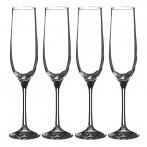 """Набор бокалов для шампанского из 4 шт. """"бар"""" 190 мл."""