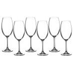 """Набор бокалов для вина  из 6 шт. """"барбара"""" 400 мл."""