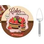 Набор для торта: блюдо + лопатка Подарки