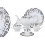 Чайный сервиз 40 предметов на 12 персон  Эстель