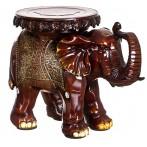 """Подставка-слон """"Зеленые Цветы - Успех В Новых Начинаниях"""""""