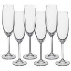 """Набор бокалов для шампанского из 6 шт. """"гастро"""" 220 мл."""