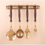 Набор кухонных принадлежностей на держателе 4 предмета