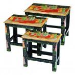 Набор из консольных столиков 3 штуки