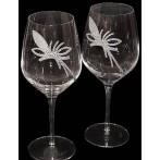 """Набор бокалов для вина """"King Flower"""" 6 бокалов"""