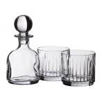 Набор для виски 3 предмета: штоф + 2 стакана
