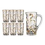 """Набор для воды """"Лаурус"""" 7 предметов: кувшин + 6 стаканов"""