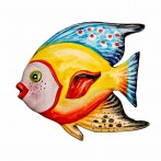 "Панно настенное ""рыба"" 16*15 см."