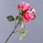 """Цветок искусственный """"Розовая роза"""""""