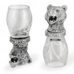 Набор из 6-стопок для водки Медведь