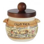 Банка для сыпучих продуктов (кофе) Старая Тоскана