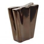 Ваза керамическая (металлик)