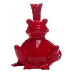 Статуэтка Лягушка-Король (красная)
