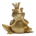 Статуэтка Лягушка-Королева (золотая)