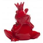 Статуэтка Лягушка-Королева (красная)