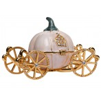 Шкатулка для украшений Карета розовая