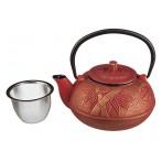Заварочный чайник чугунный с эмалированным покрытием внутри