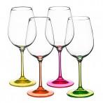 """Набор бокалов для вина """"Neon"""" 4 штуки"""