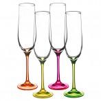 """Набор бокалов для шампанского из """"Neon"""" 4 штуки"""