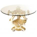 Стол+стекло высота=86 см.диаметр=135 см.(2кор=1комп.)