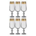 """Набор бокалов для шампанского """"Клаудия"""" 6 штук"""
