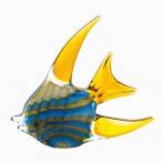 Статуэтка Рыба желто-голубая
