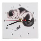 """Часы """"Кошки и мышка"""""""