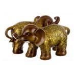 """Набор фигурок слонов """"Семейные Узы"""" 2 штуки"""