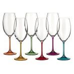 "Набор бокалов для вина из 6 шт. ""барбара декорейшн"" 400 мл."