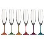"""Набор бокалов для шампанского из 6 шт. """"барбара декорейшн"""" 250 мл."""