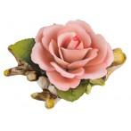 """Изделие декоративное """"роза"""" длина=15 см.высота=8 см."""