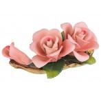 """Изделие декоративное """"роза"""" длина=17 см.высота=7 см."""