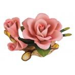 """Изделие декоративное """"роза"""" длина=19 см.высота=10 см."""