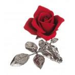 """Изделие декоративное """"роза"""" длина=15 см.высота=12 см."""