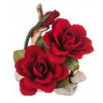 """Изделие декоративное """"роза"""" длина=17 см.высота=19 см."""