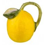 """Кувшин декоративный """"лимон"""" высота=18 см."""