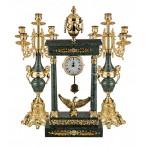 Набор, часы, 2 подсвечника.