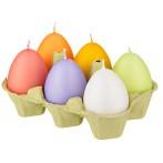 """Набор свечей  """"Яйцо"""" из 6 шт."""