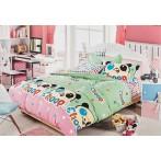"""Комплект постельного белья 1,5-спальный """"Панда кун-фу"""""""